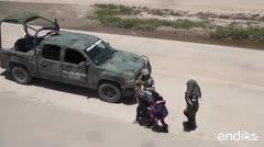México envía miles de uniformados a la frontera con Estados Unidos