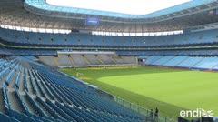 La grama decepciona a los futbolistas en la Copa América