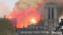 Revelan las dos posibles causas del fuego en Notre Dame
