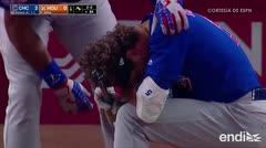 El terrible momento en que una niña recibe un pelotazo durante juego de Cubs y Astros