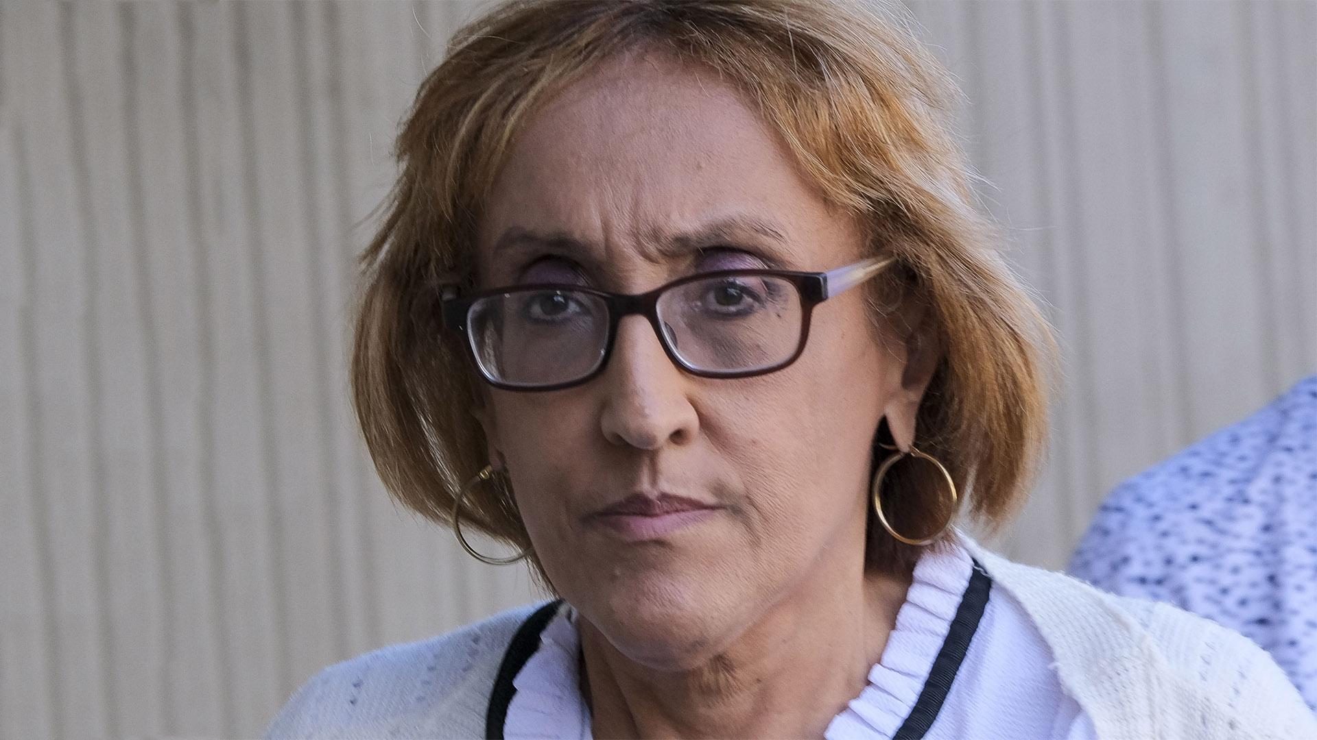 """La exjefa de Adsef al salir del tribunal: """"No puedo emitir comentarios"""""""