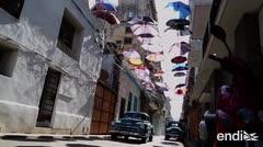 ¡Las sombrillas llegaron a La Habana!