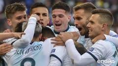 Con Messi expulsado, Argentina se reivindica contra Chile