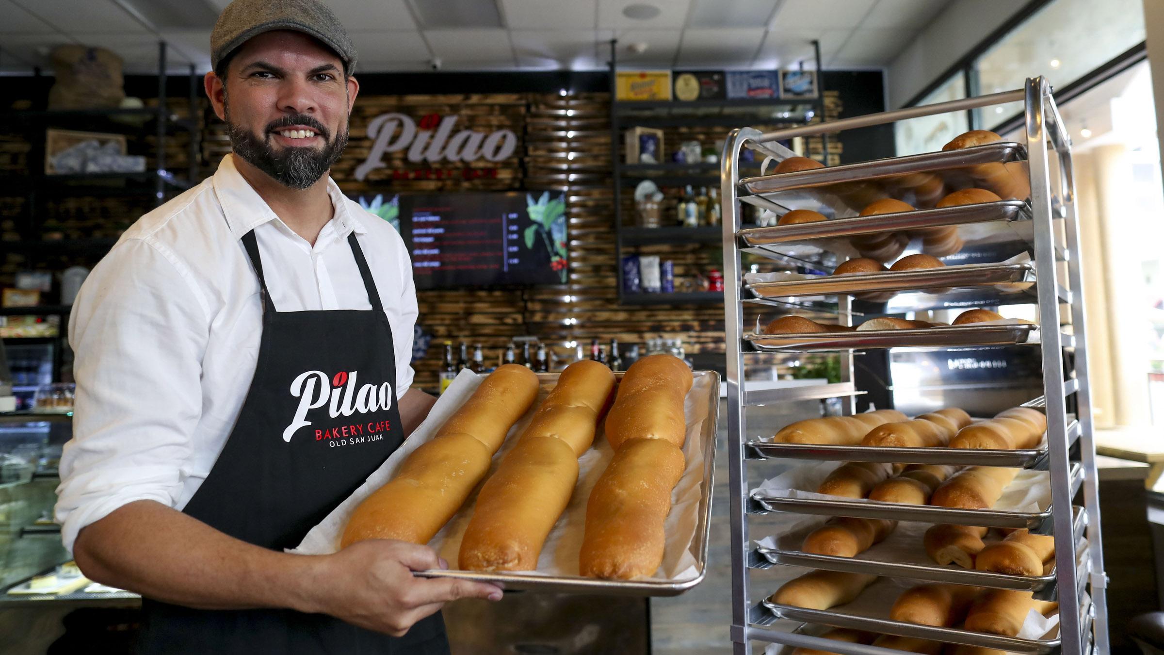 Así se ve Pilao, la nueva panadería del Viejo San Juan