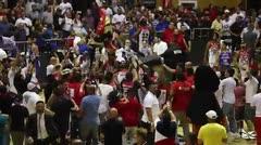 Los Leones celebran su pase a la final del BSN