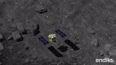 Misión cumplida: aterrizan en un asteroide