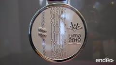 Así serán las medallas de los Juegos Panamericanos 2019