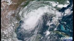 Barry toca tierra en Luisiana convertido en tormenta tropical