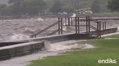 Barry se debilita, pero siguen las alertas por tornados y lluvias en Estados Unidos
