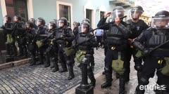 Gritos, denuncias y enfrentamientos llegaron a La Fortaleza