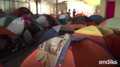 Desbordados los albergues de México ante la espera de asilo en Estados Unidos