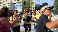 "Maestras rechazan a Keleher frente al Tribunal Federal: ""¡Sal de ahí, Julita, Julita!"""