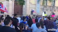 Los gritos contra Ricardo Rosselló llegan a Miami