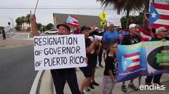 La diáspora en Orlando pide la renuncia de Ricardo Rosselló