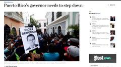 Los medios del mundo ponen los ojos sobre el escándalo del chat