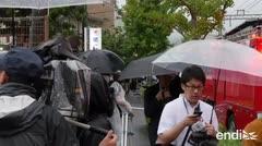 Se incendia un estudio de animación en Japón