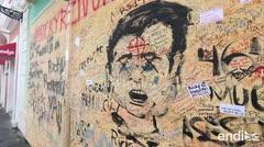 Los daños y mensajes que dejaron en el Viejo San Juan