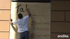 """Instalan """"tablones de expresión"""" para que no dañen al Viejo San Juan"""