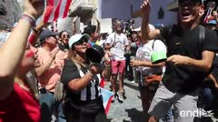 El octavo día de protestas fue a son de cacerolazos