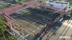 Paralizan carretera en Mayagüez en protesta contra Rosselló