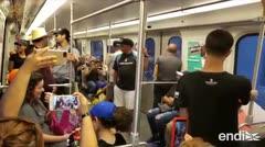 Encienden la protesta en el Tren Urbano