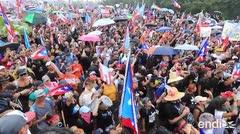 """Poderosas imágenes de la marcha: """"¡Si Ricky quiere bronca, bronca es!"""""""