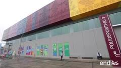 Dan los toques finales a las instalaciones deportivas de los Juegos de Lima 2019