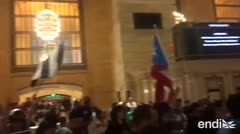 Protestas pidiendo la salida de Rosselló llegan hasta Grand Central