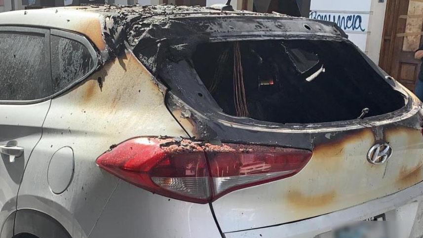 Habla el dueño del vehículo quemado por la Policía en el Viejo San Juan