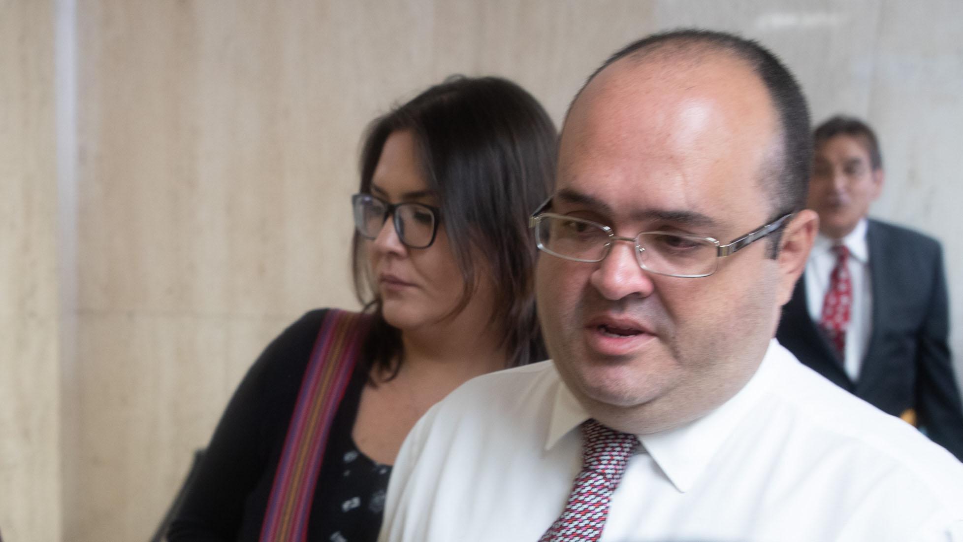 Así se vio el exjuez Rafael Ramos Sáenz luego de que se declaró culpable