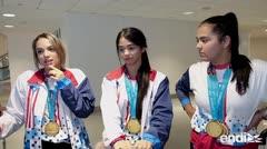 Cargados de medallas: llega el equipo de tenis de mesa de Puerto Rico