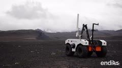 La Nasa se prepara para Marte en un campo de lava