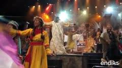 Actores boricuas en musical David en parque de atracciones Holy Land en Orlando