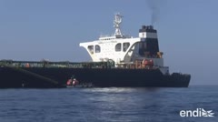 Liberan al barco petrolero que causó semanas de tensión internacional