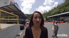 """Marisé """"Tata"""" Álvarez recorre el almacen de papel de GFR Media"""
