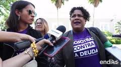 La Colectiva Feminista llega a La Fortaleza para exigir un estado de emergencia