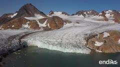 La NASA sondea los mares de Groenlandia, amenazada por el deshielo