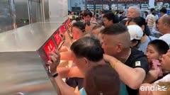 Miles de chinos enloquecen al entrar a Costco por primera vez