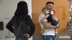 Tommy Ramos sorprende a los niños del Hospital Pediátrico