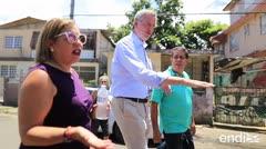 """Bill de Blasio llega a Puerto Rico: """"Vamos a pelear juntos porque esto es asqueroso"""""""