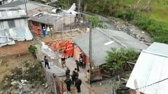Esta avioneta se estrelló contra una casa en Colombia