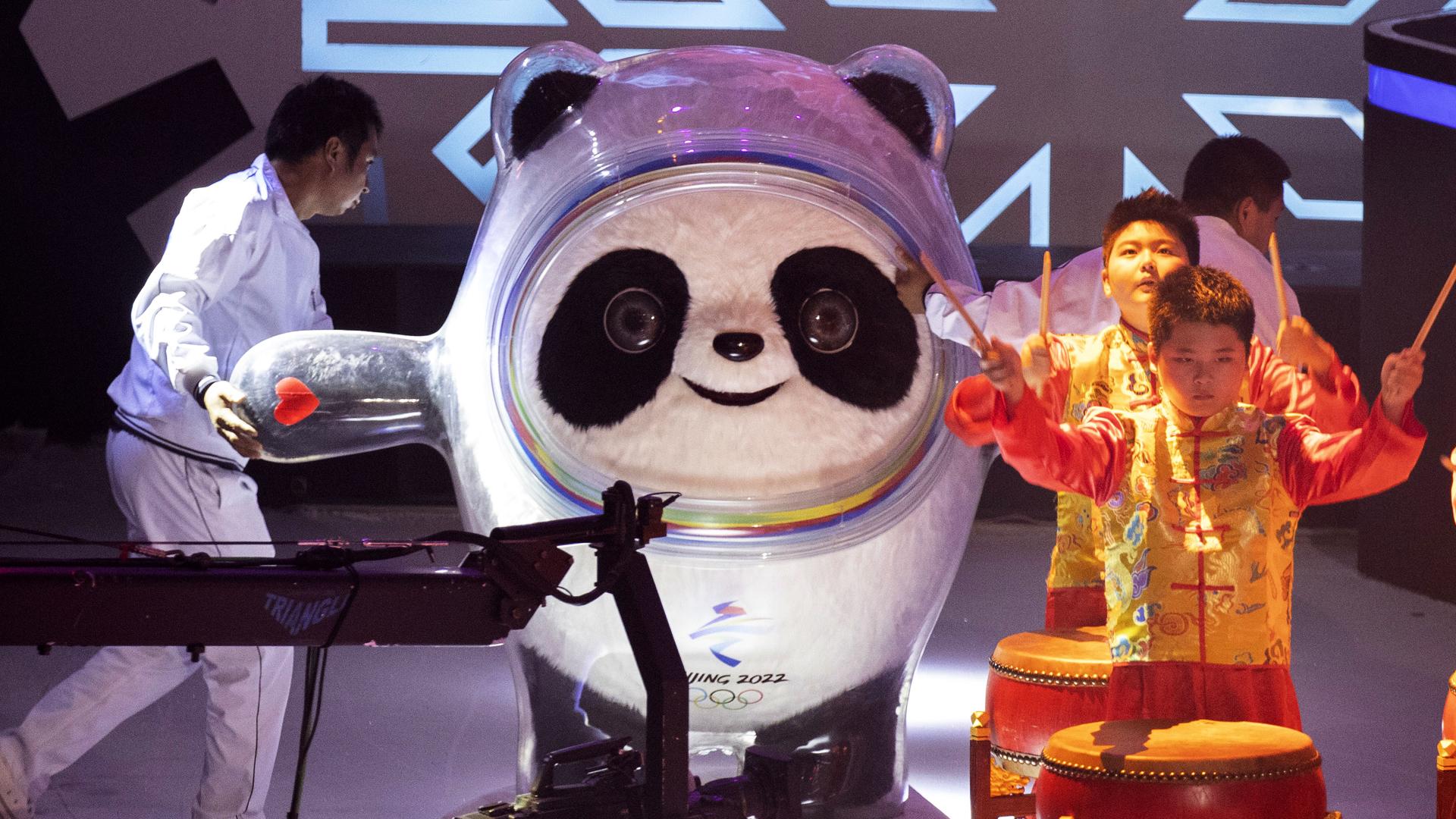 Conoce a Bing Dwen Dwen, la mascota de las Olimpiadas de Invierno 2022