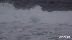 Fuerte oleaje afecta a la zona norte de Puerto Rico