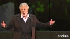 Premian a Plácido Domingo en medio de las acusaciones de acoso sexual