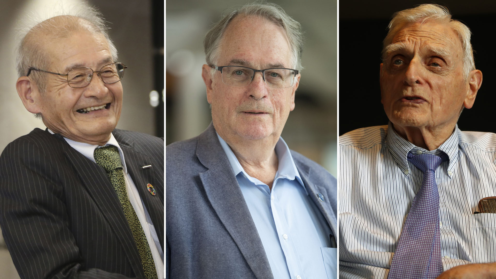 Premian con el Nobel de Química a los padres de una batería poderosa