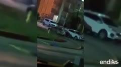 Captan en vídeo el intenso intercambio de disparos en el residencial Ernesto Ramos Antonini