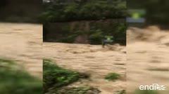 La crecida del río Jayuya afecta nuevamente a residentes de Pons en Utuado