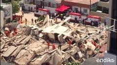 Se derrumba un edificio de siete pisos en Brasil