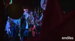 Demostraciones de fuerza en cierres de campaña en Bolivia