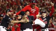 """José Serrano: """"Voy a los Yankees, pero celebro lo que los Nationals han logrado"""""""
